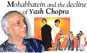 Mohabbatein and the decline of Yash Chopra